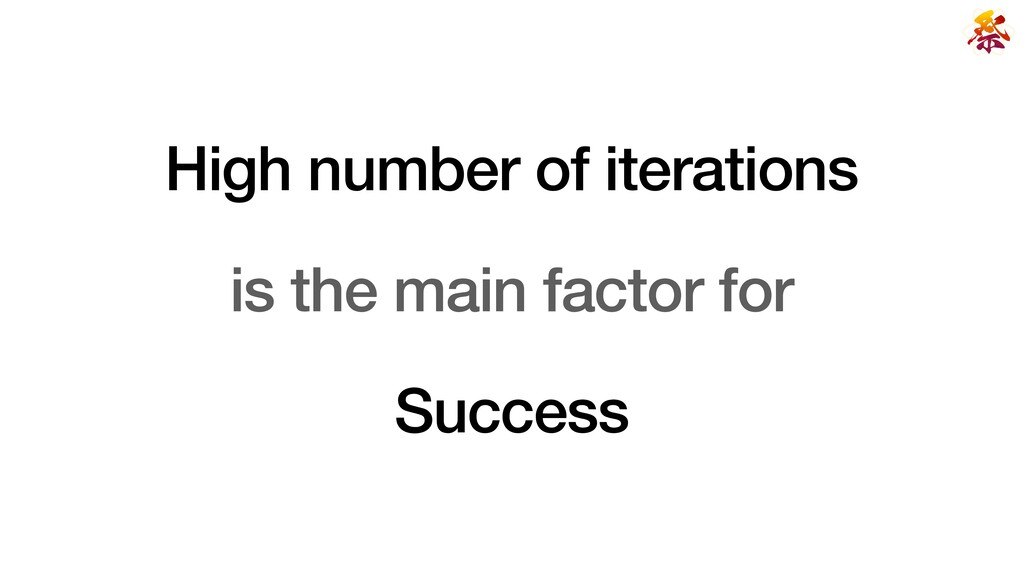 High number of iterations   is the main factor ...