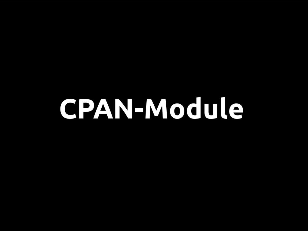CPAN-Module