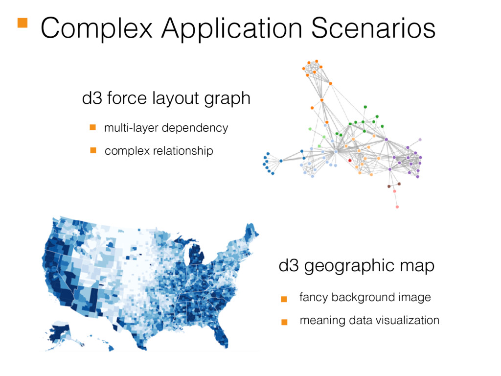 Complex Application Scenarios d3 force layout g...