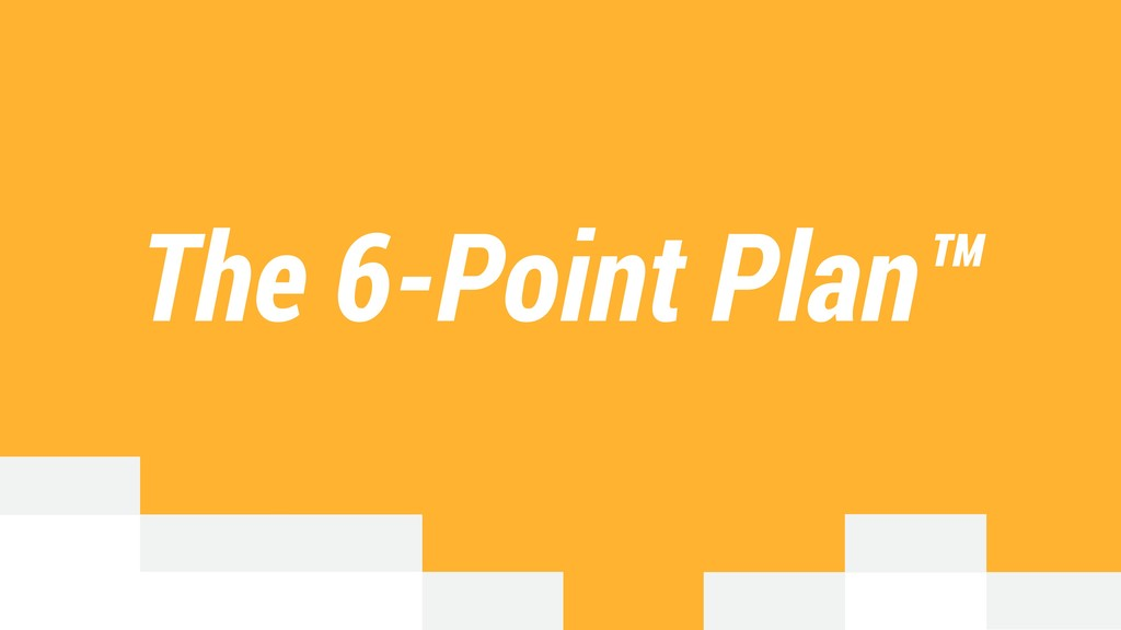 The 6-Point Plan™
