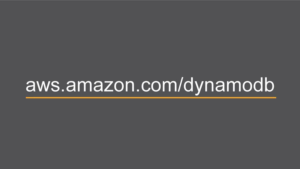 aws.amazon.com/dynamodb
