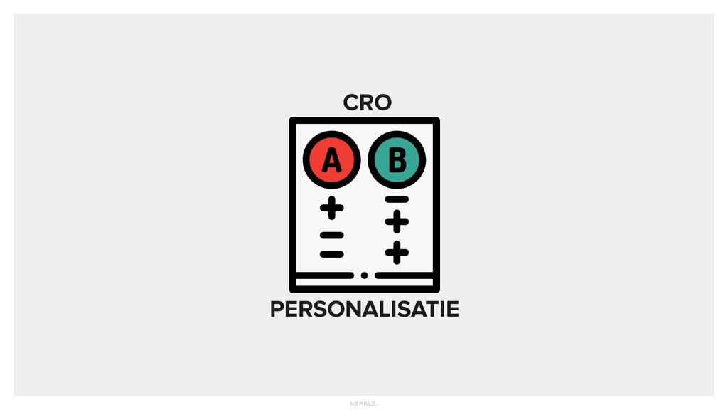 CRO PERSONALISATIE
