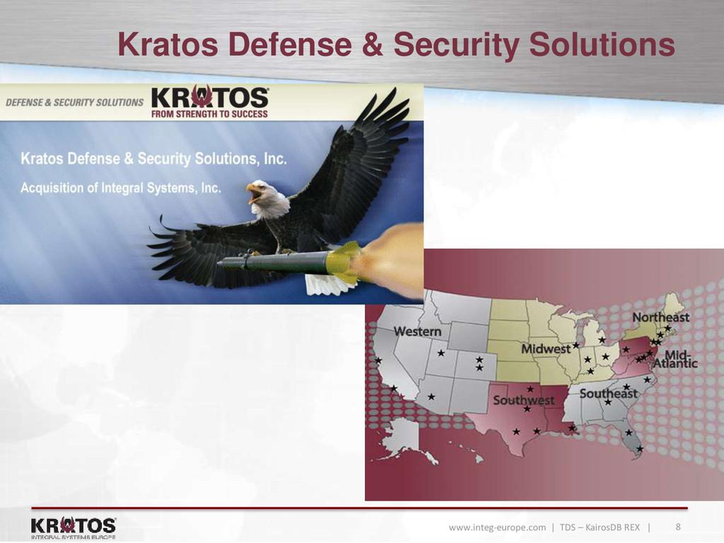 8 www.integ-europe.com | TDS – KairosDB REX | K...