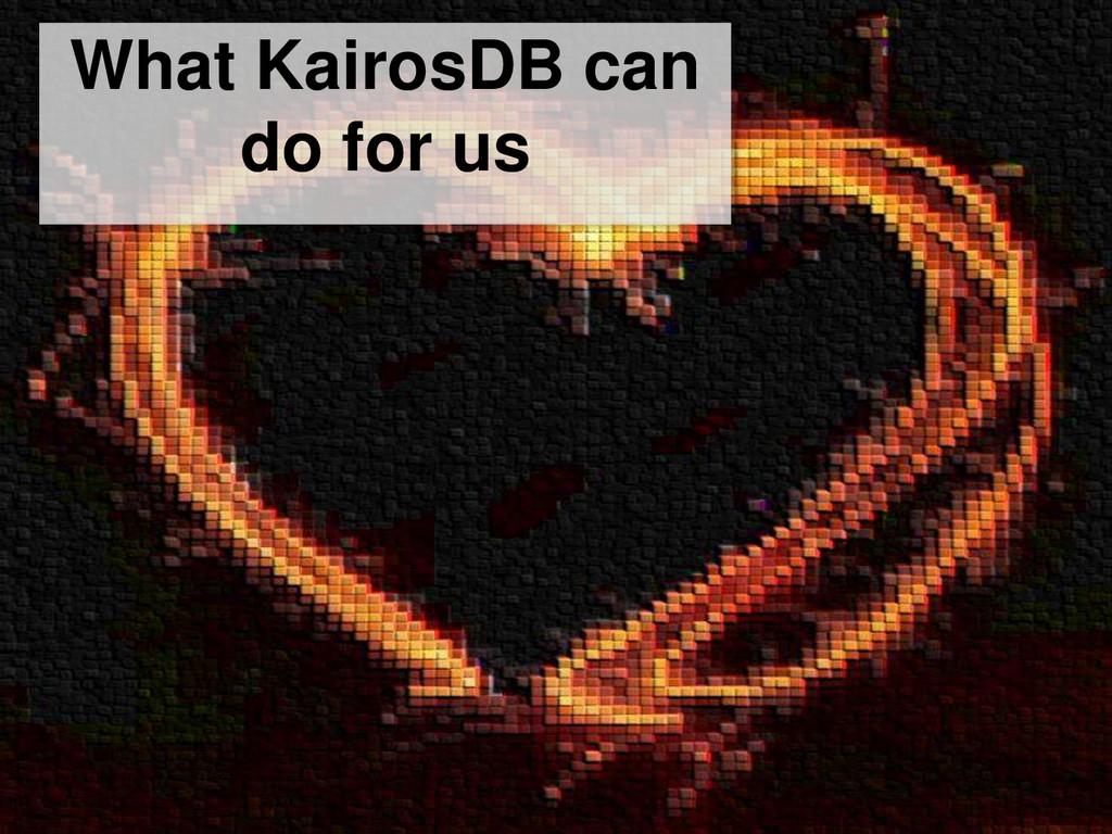 77 www.integ-europe.com | TDS – KairosDB REX | ...