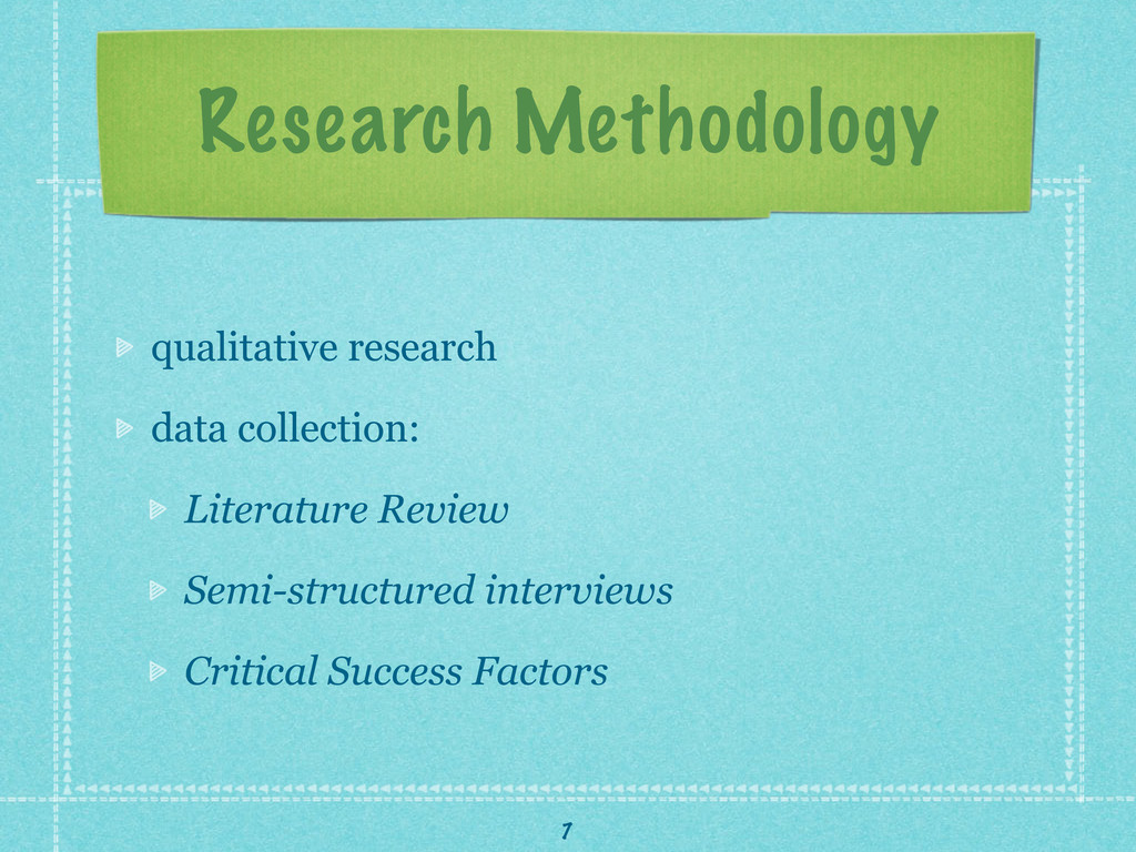 Research Methodology qualitative research data ...