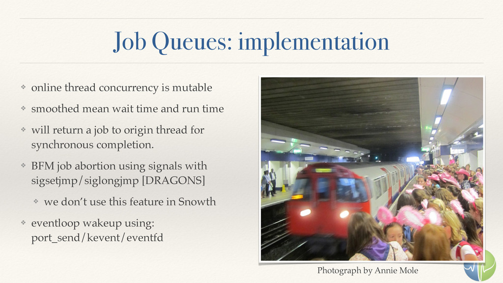 Job Queues: implementation ❖ online thread conc...