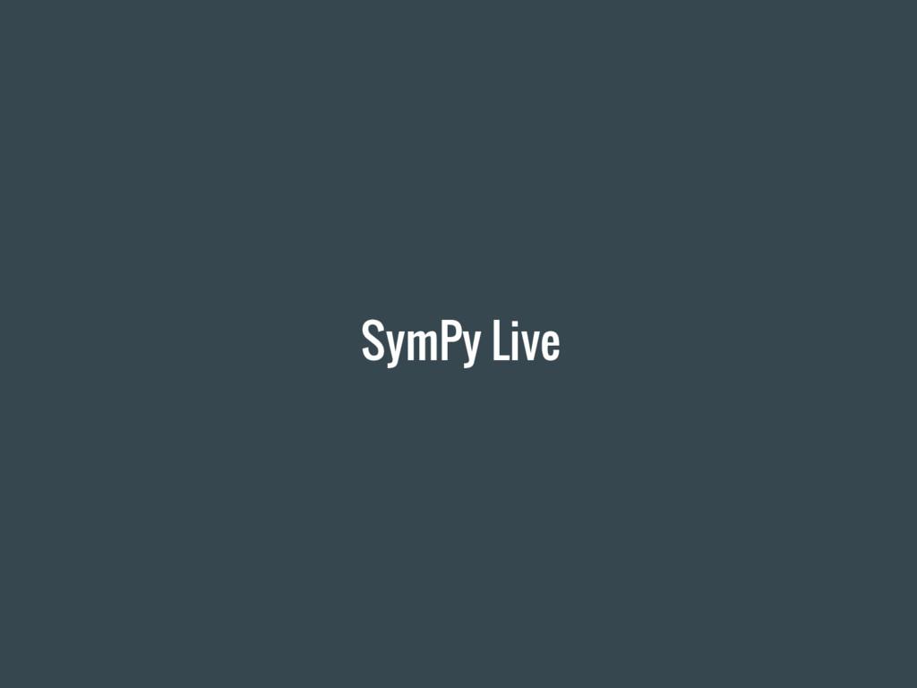 SymPy Live