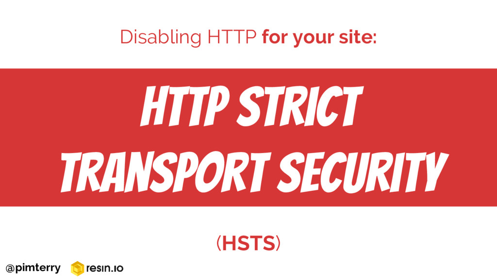 HTTP Strict Transport Security (HSTS) Disabling...