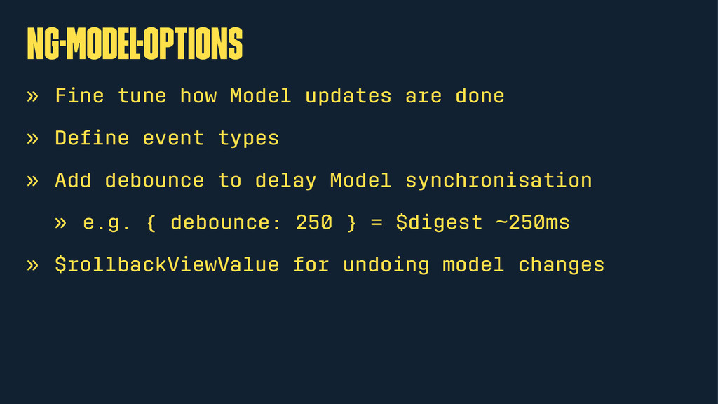ng-Model-Options » Fine tune how Model updates ...