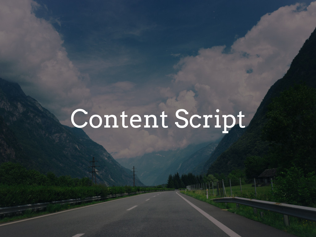 Content Script
