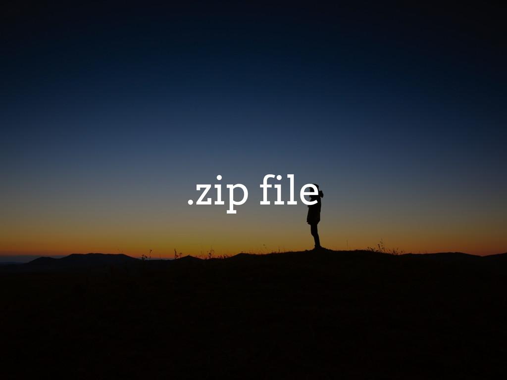 .zip file