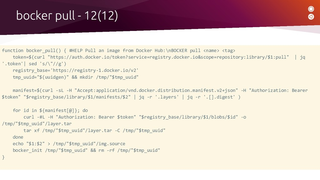function bocker_pull() { #HELP Pull an image fr...
