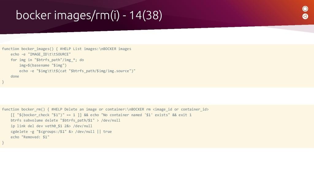 function bocker_images() { #HELP List images:\n...