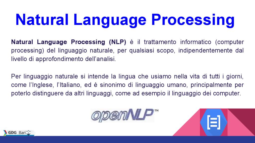 Natural Language Processing Natural Language Pr...