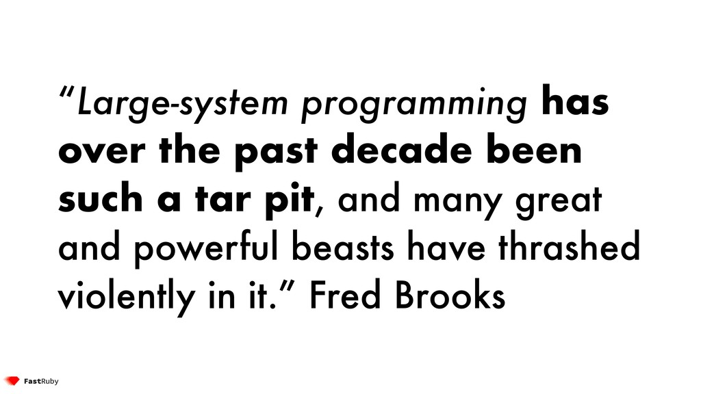 """Large-system programming has over the past dec..."