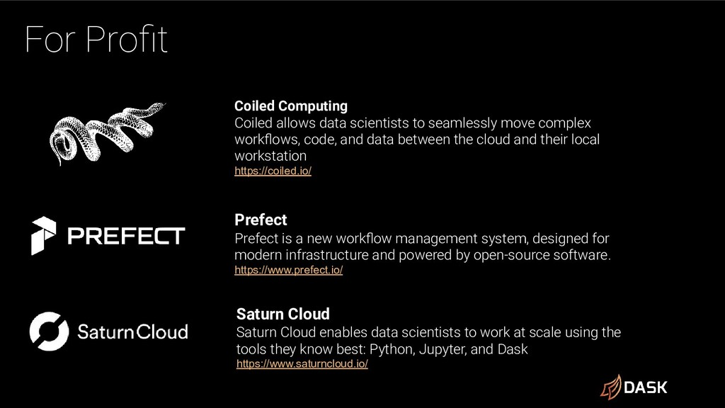 For Profit Coiled Computing Coiled allows data s...