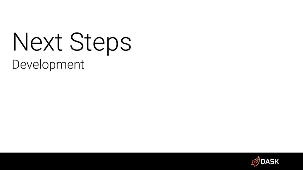 Next Steps Development