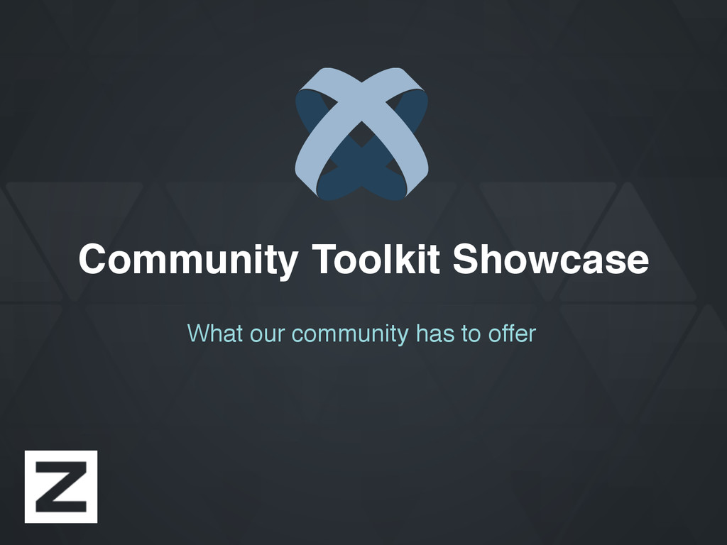 Community Toolkit Showcase What our community h...