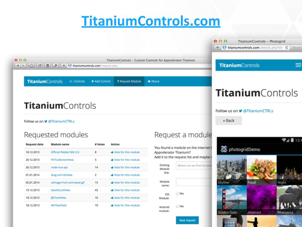 TitaniumControls.com