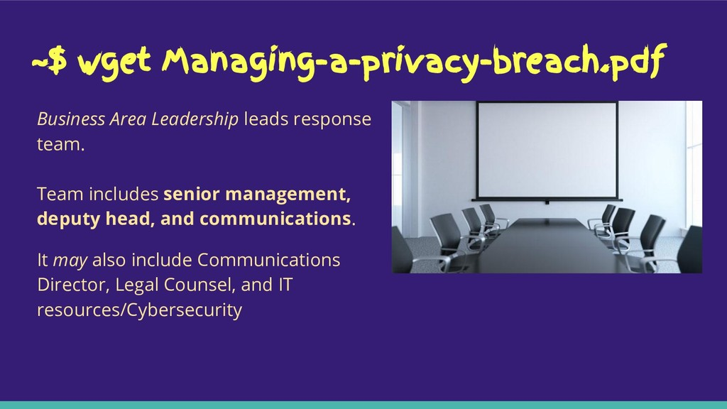 ~$ wget Managing-a-privacy-breach.pdf Business ...
