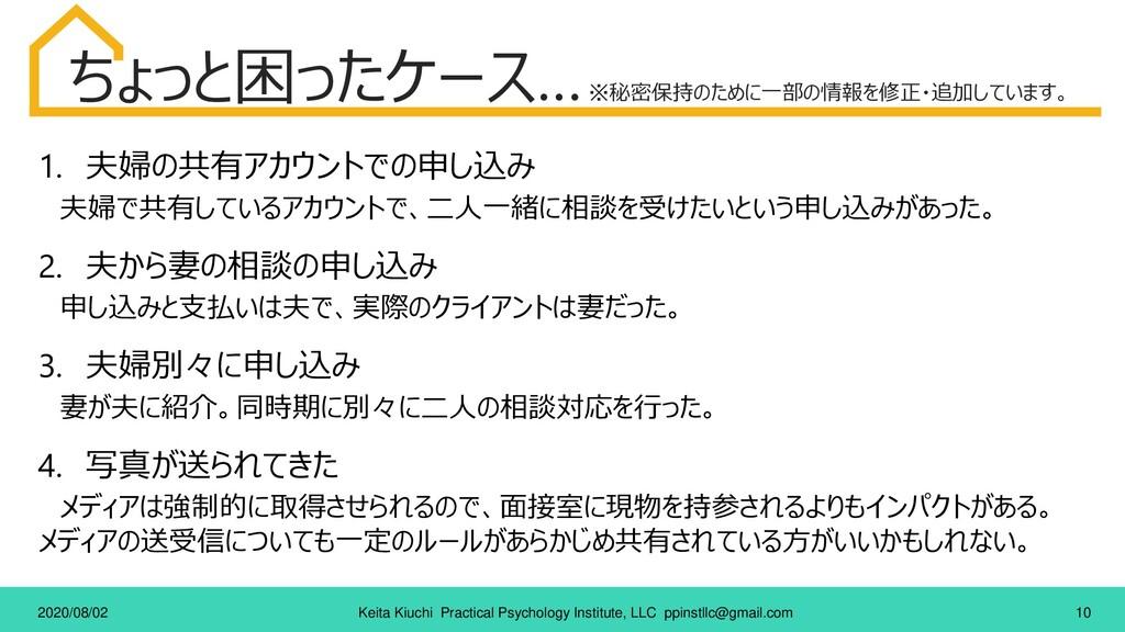 10 Keita Kiuchi Practical Psychology Institute,...