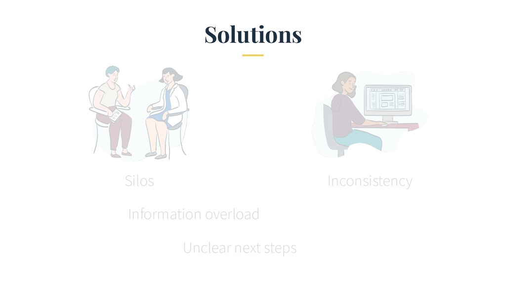 Solutions Silos Inconsistency Information overl...