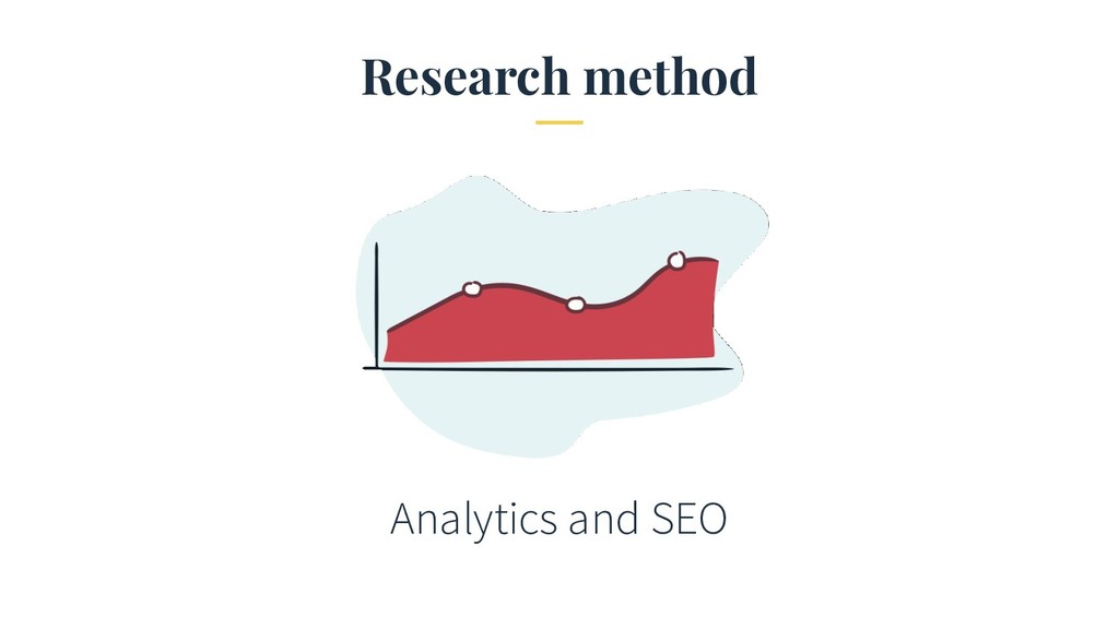 Research method Analytics and SEO