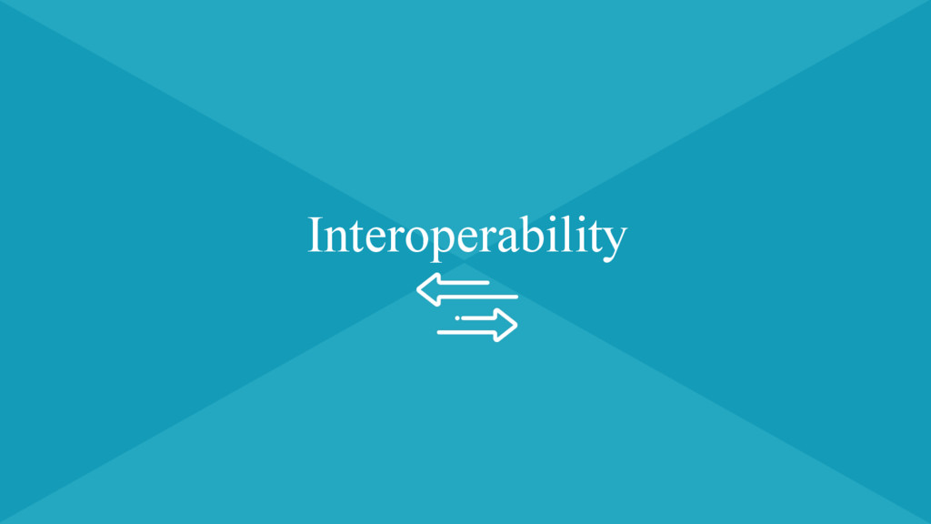 By OCTO & The Refiners Interoperability