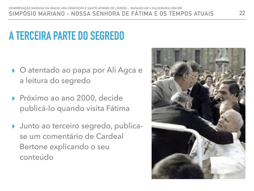 A TERCEIRA PARTE DO SEGREDO ▸ O atentado ao pap...