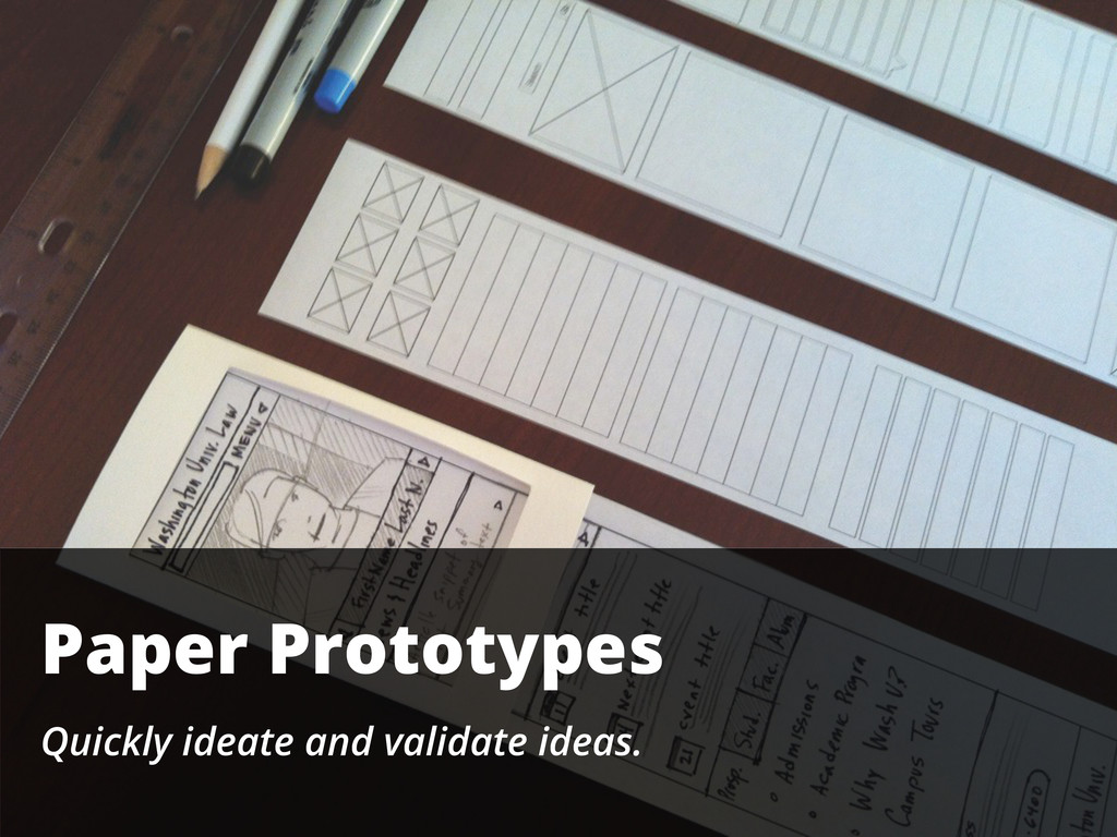 Paper Prototypes Quickly ideate and validate id...