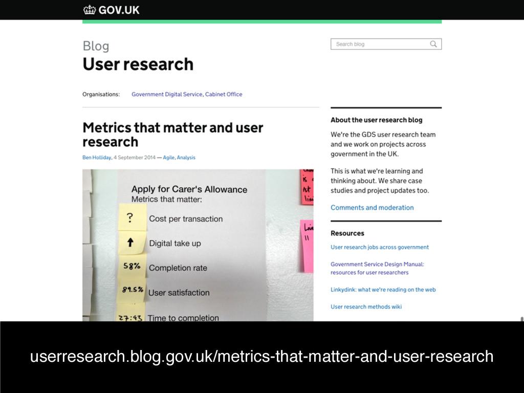 Ben Holliday userresearch.blog.gov.uk/metrics-t...