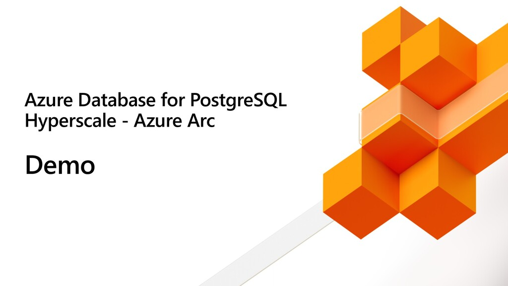 Azure Database for PostgreSQL Hyperscale - Azur...
