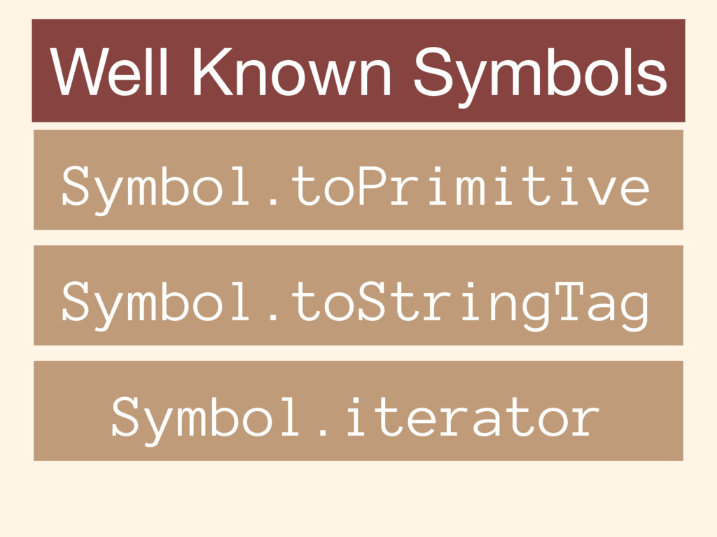 Well Known Symbols Symbol.toPrimitive Symbol.to...