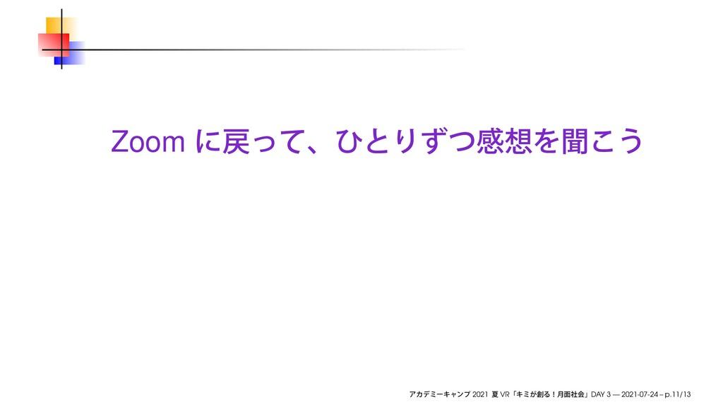 Zoom 2021 VR DAY 3 — 2021-07-24 – p.11/13