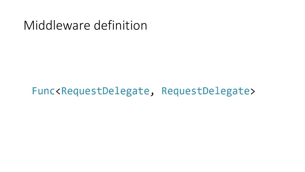 Middleware definition