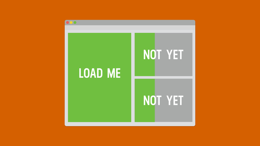 LOAD ME NOT YET NOT YET