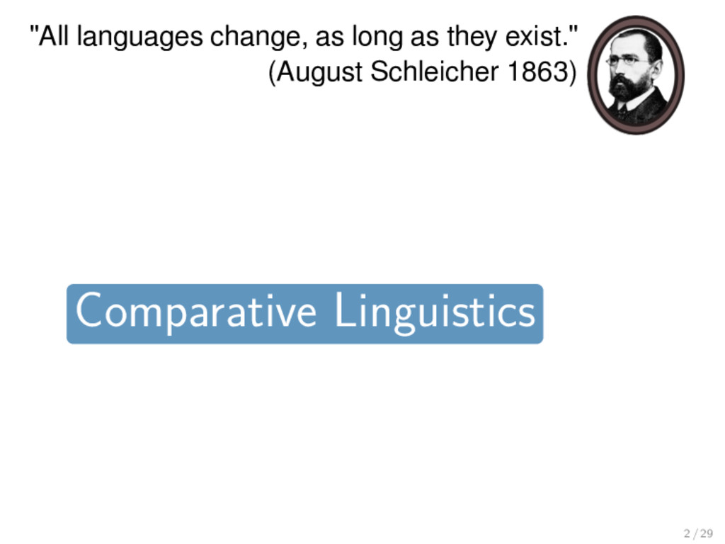 """All languages change, as long as they exist."" ..."