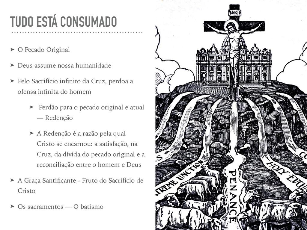TUDO ESTÁ CONSUMADO ➤ O Pecado Original ➤ Deus ...