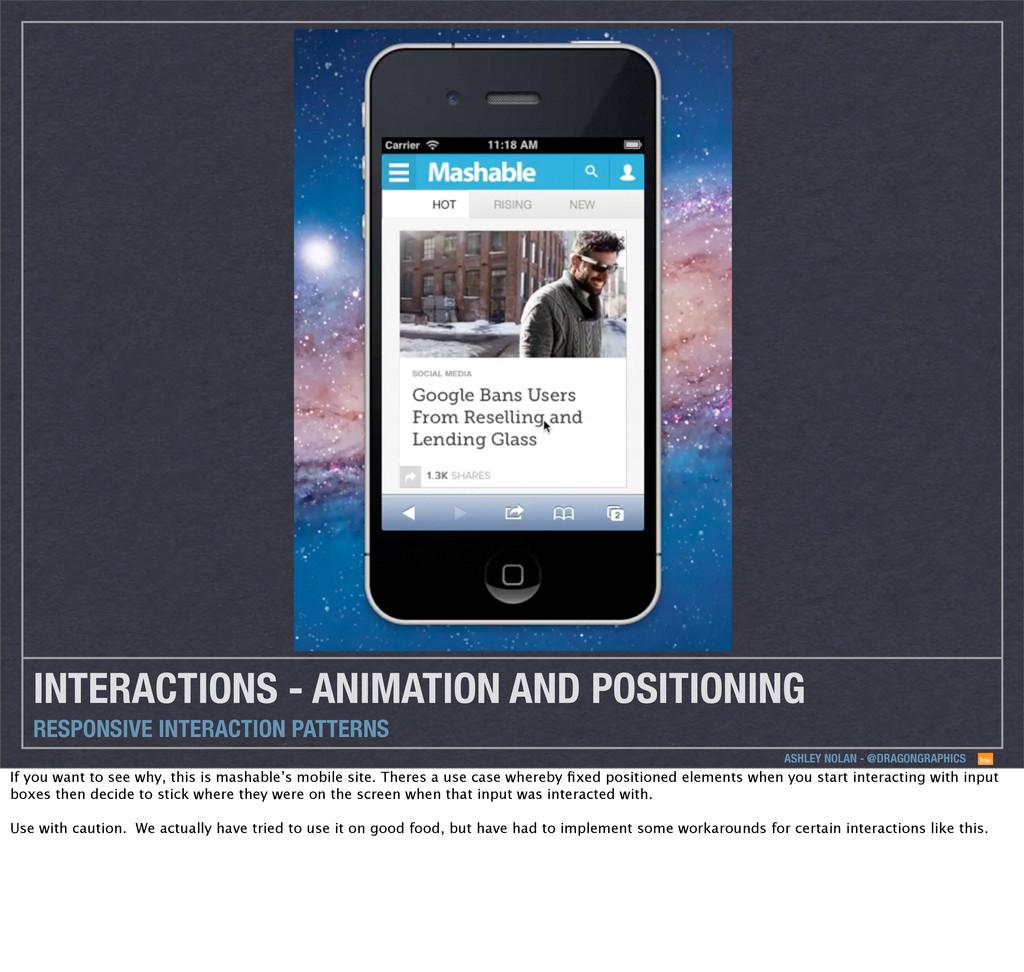ASHLEY NOLAN - @DRAGONGRAPHICS INTERACTIONS - A...