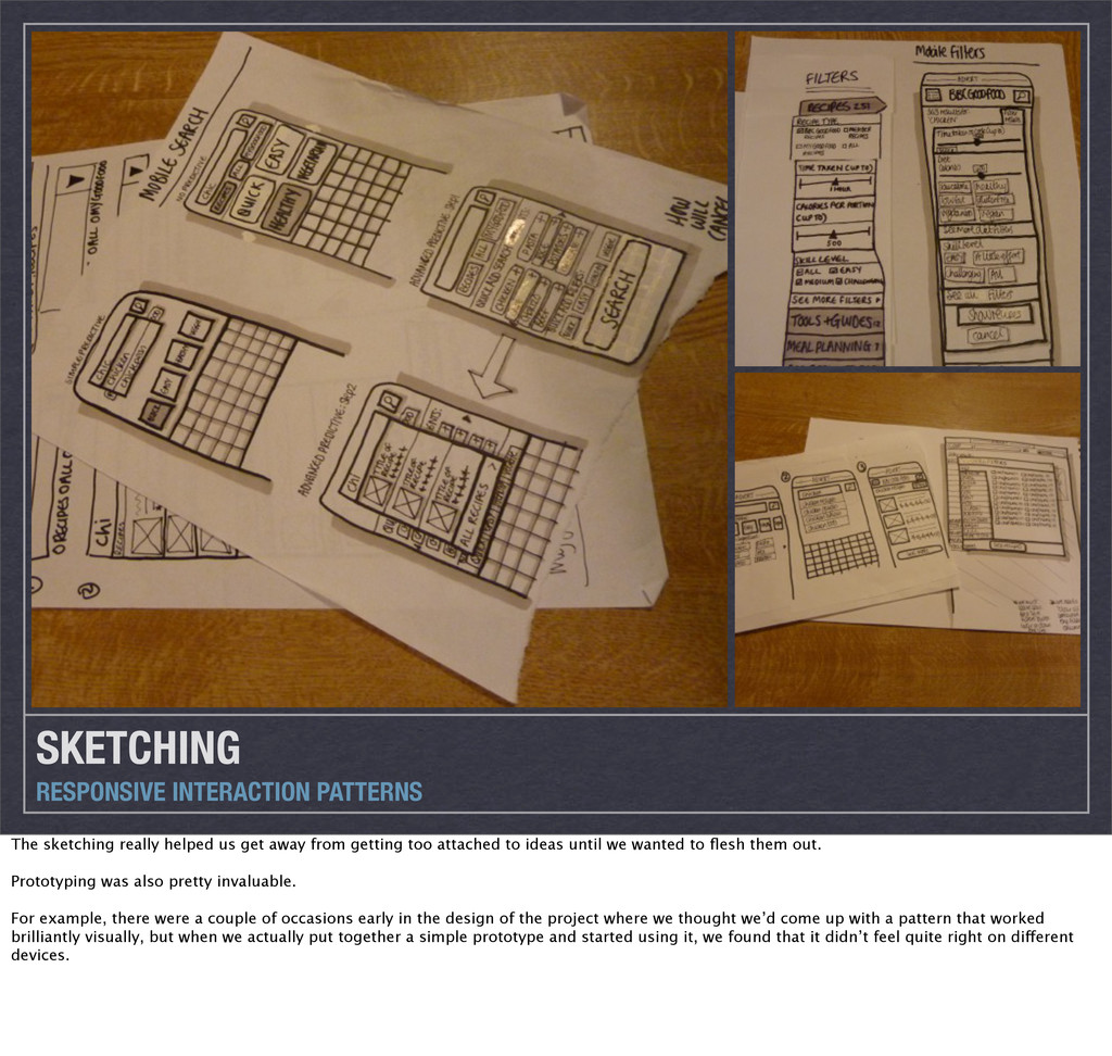 SKETCHING RESPONSIVE INTERACTION PATTERNS The s...
