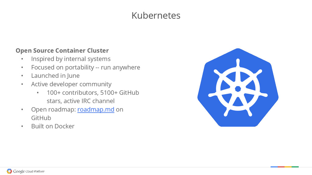 Kubernetes Open Source Container Cluster • Insp...