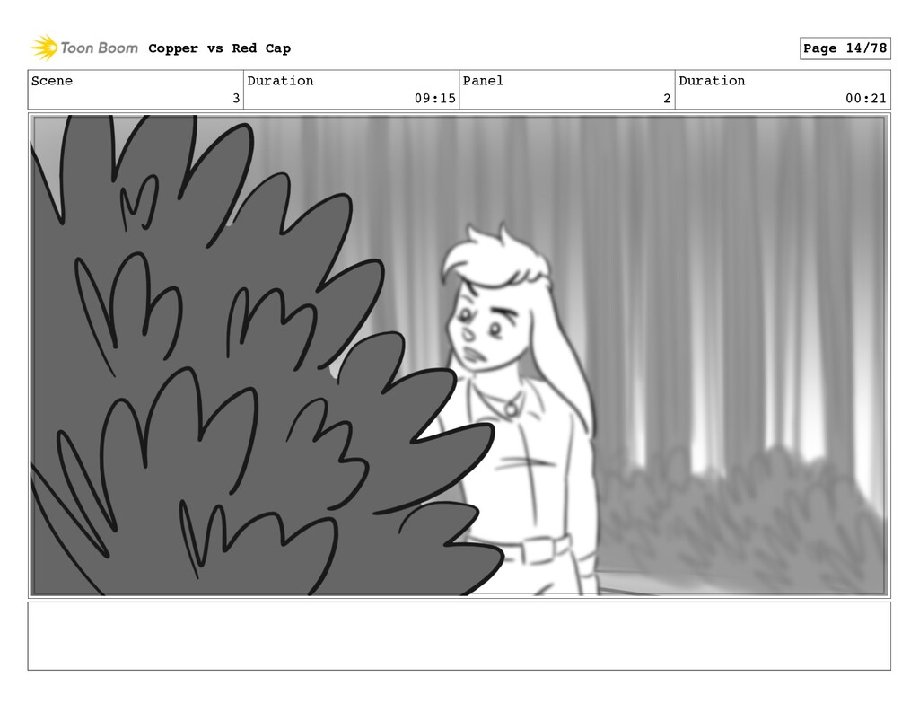Scene 3 Duration 09:15 Panel 2 Duration 00:21 C...