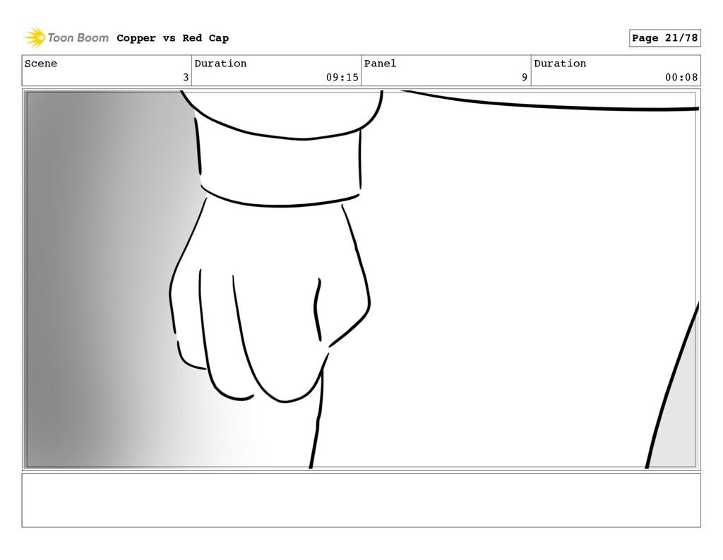 Scene 3 Duration 09:15 Panel 9 Duration 00:08 C...