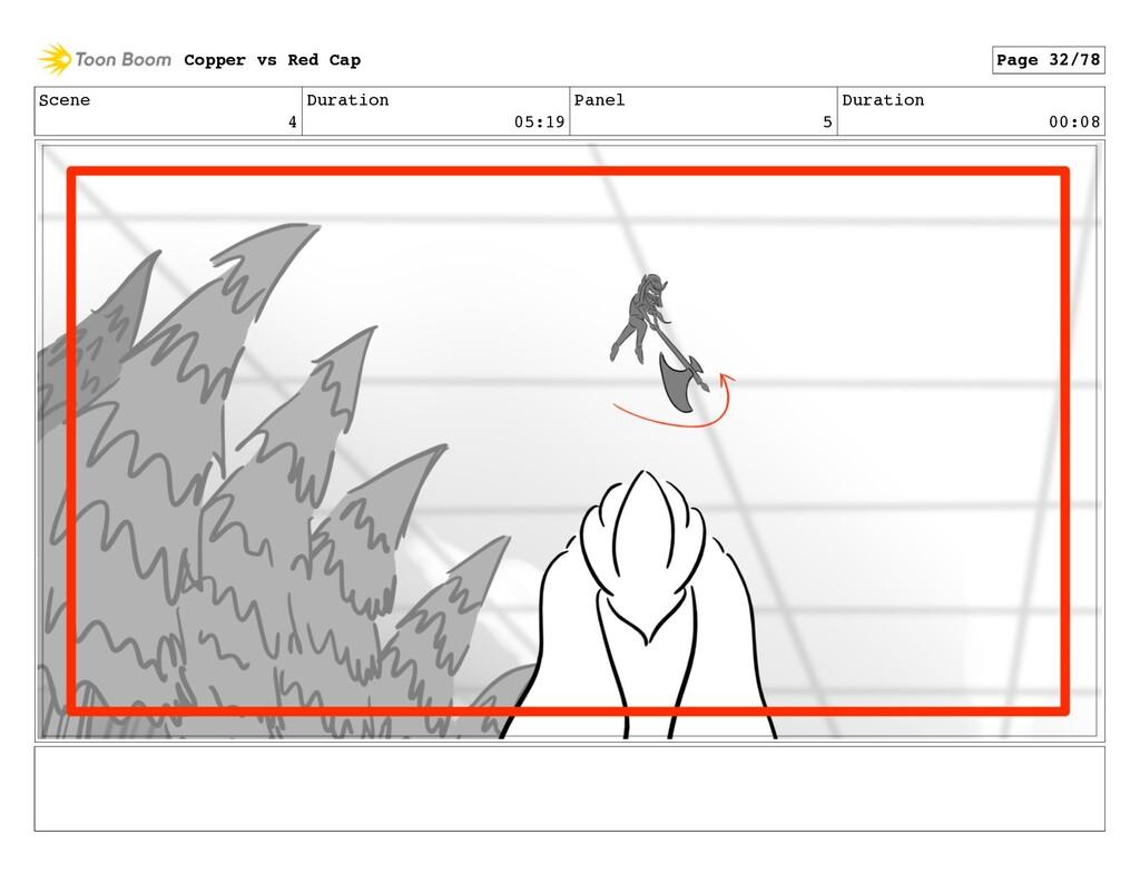 Scene 4 Duration 05:19 Panel 5 Duration 00:08 C...