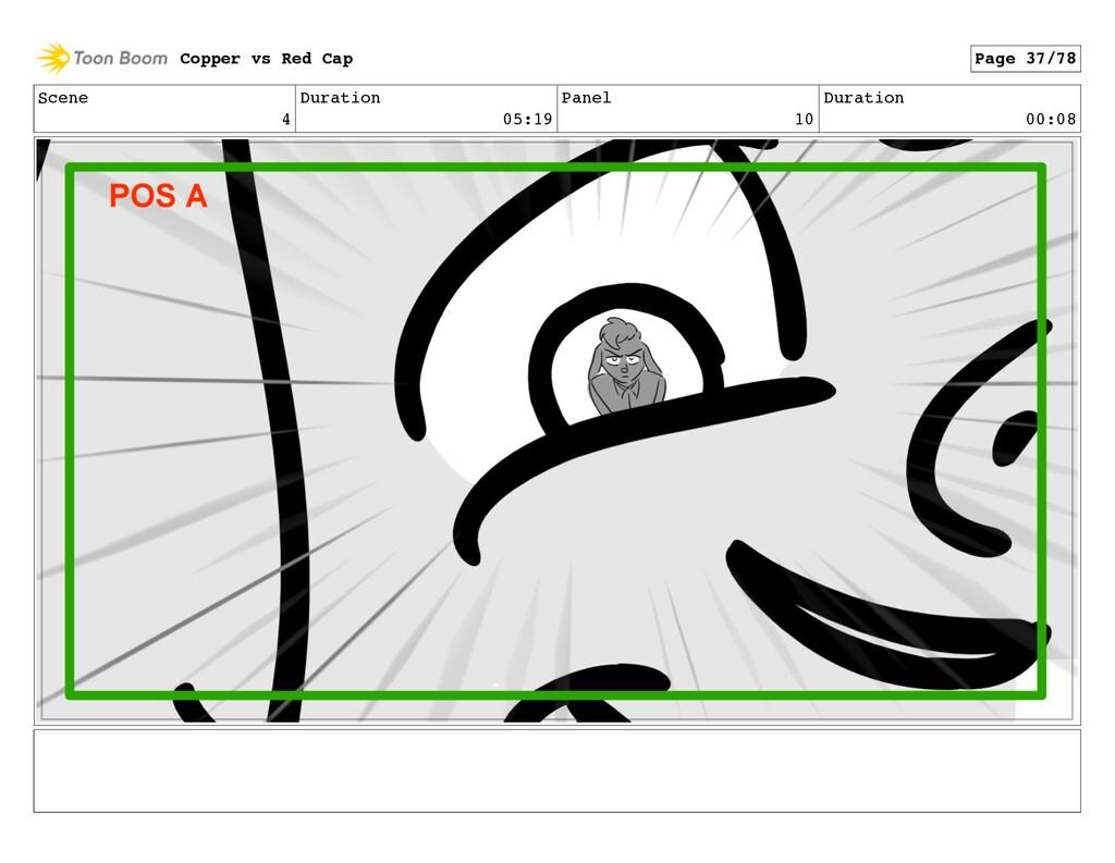Scene 4 Duration 05:19 Panel 10 Duration 00:08 ...