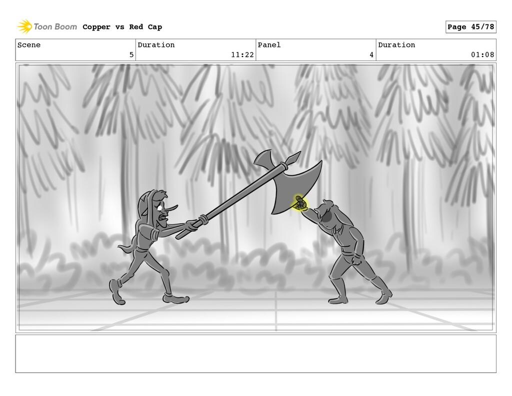 Scene 5 Duration 11:22 Panel 4 Duration 01:08 C...
