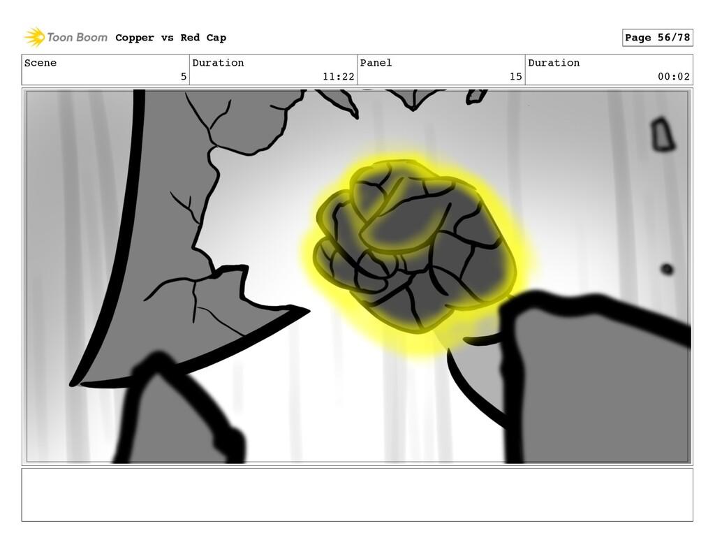 Scene 5 Duration 11:22 Panel 15 Duration 00:02 ...