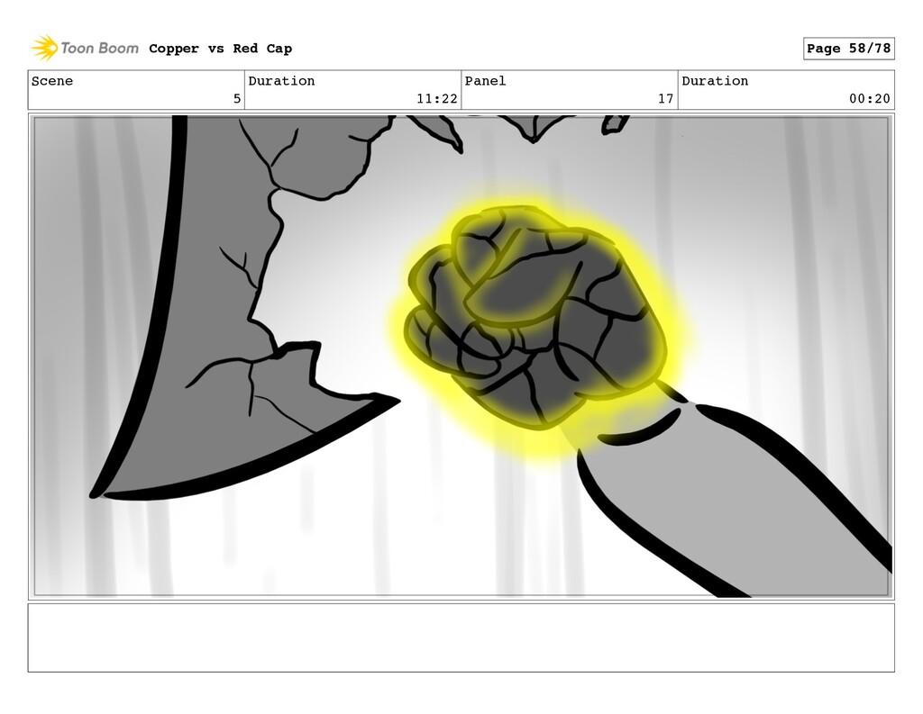 Scene 5 Duration 11:22 Panel 17 Duration 00:20 ...