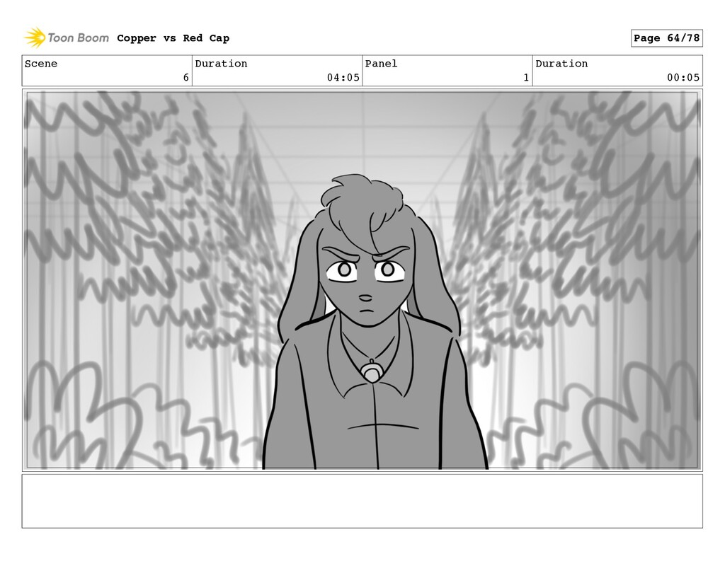 Scene 6 Duration 04:05 Panel 1 Duration 00:05 C...