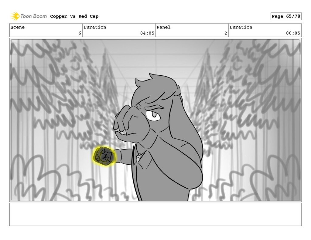 Scene 6 Duration 04:05 Panel 2 Duration 00:05 C...